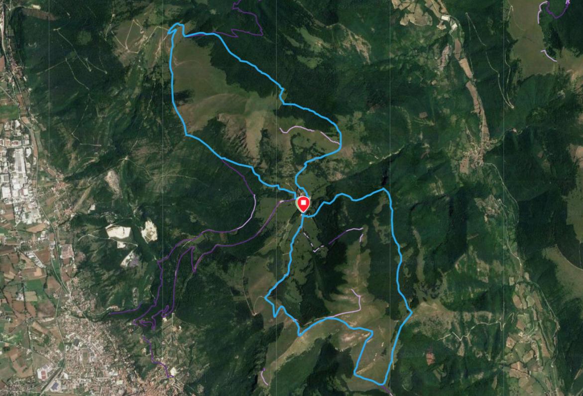 valsorda trail percorso